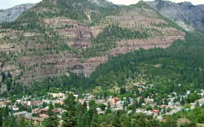 One of the Most Popular Trails in Ouray: Box Cañon Park