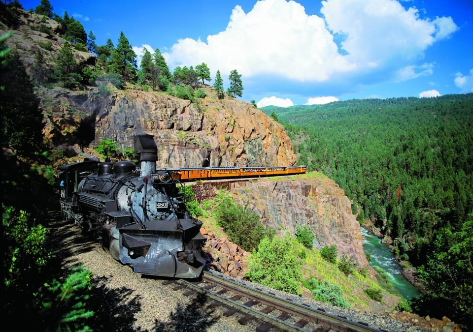 Explore the Ouray Area by Train