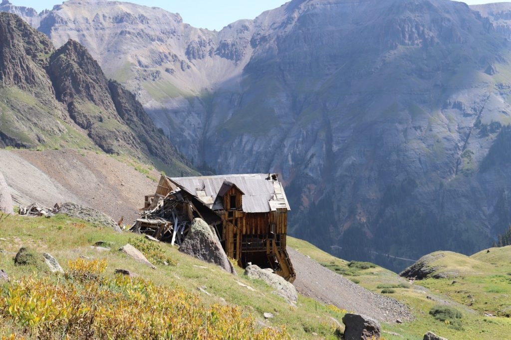 Abandoned Ouray mine | Stay at the Ouray Chalet Inn