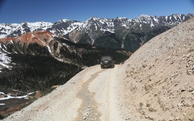 Four-wheel Drive Trails in Ouray